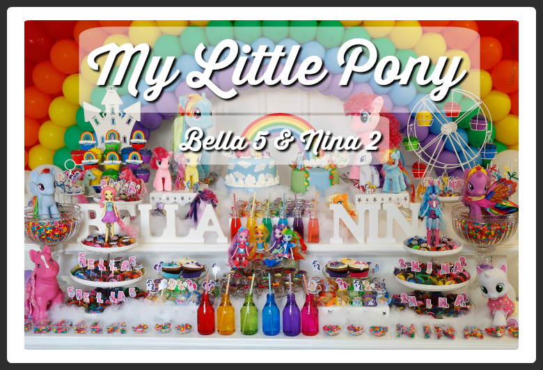 Colagem My Little Pony Capa 4